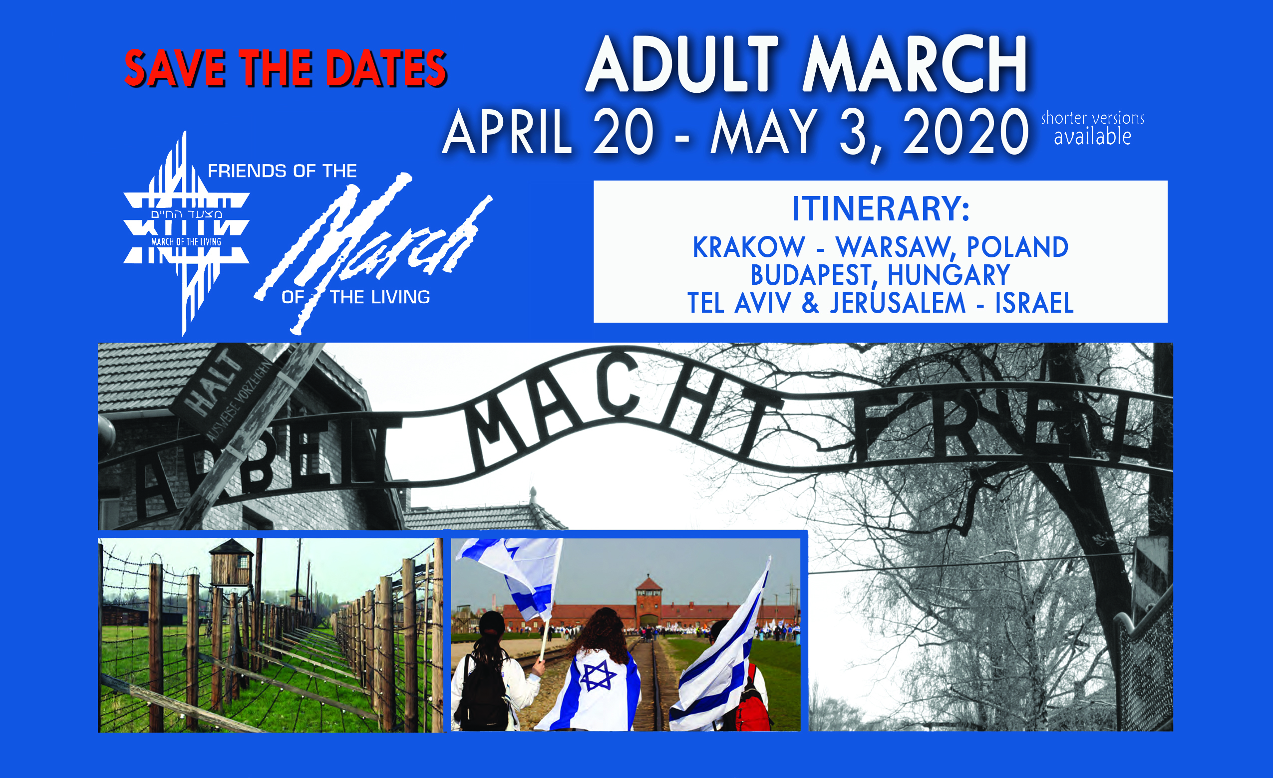ADULT MARCH 2020 – Friends of the March of the Living